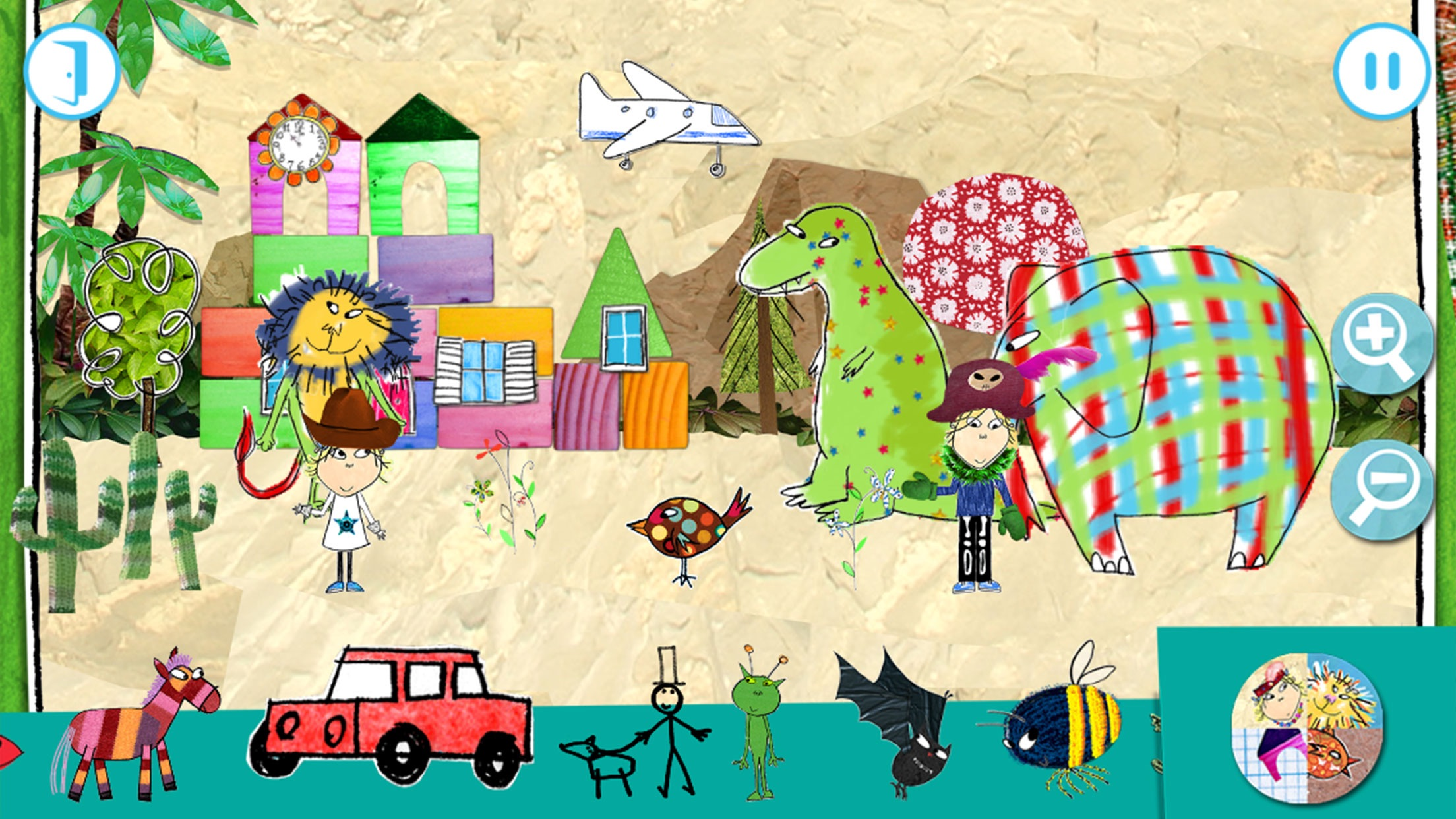 Charlie & Lola: My Little Town Screenshot