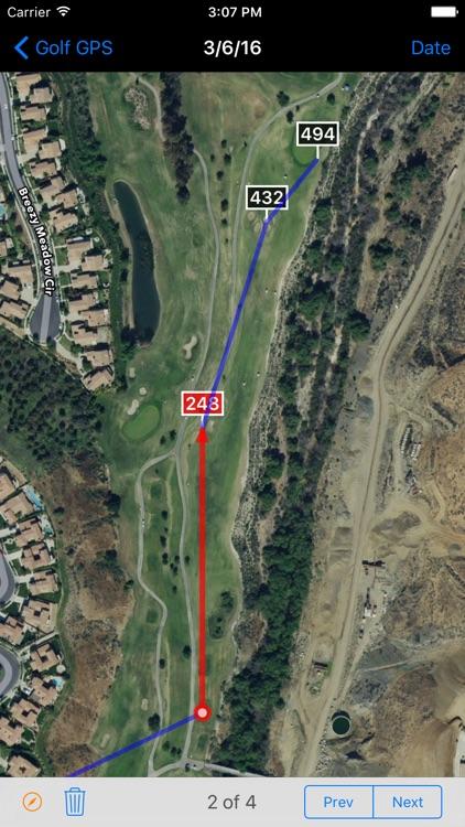 Golf GPS - Ad Free screenshot-3