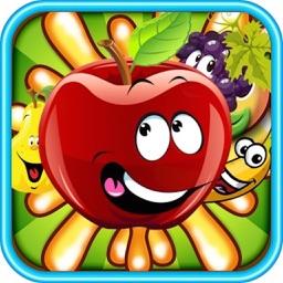 Fruit Smash Crush - 3 match puzzle yummy world game