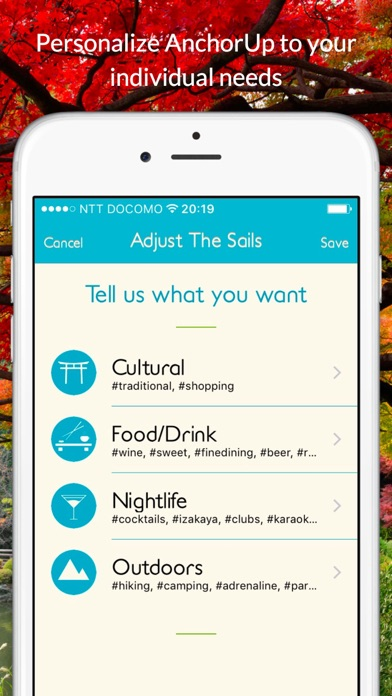 download AnchorUp - A local's guide to travel apps 4
