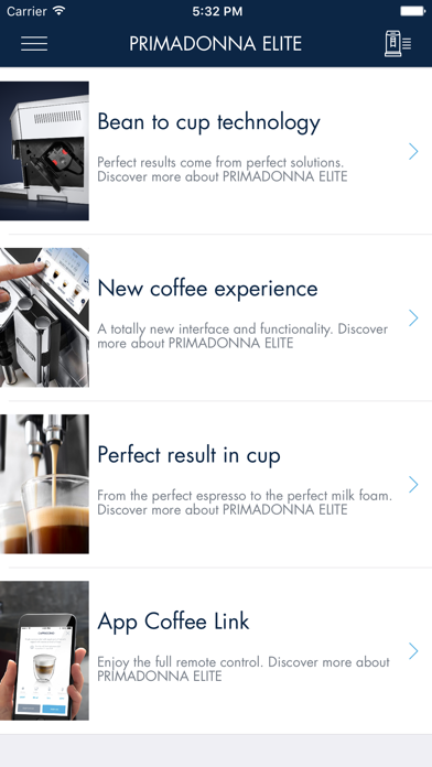 Screenshot for De'Longhi COFFEE LINK in Azerbaijan App Store