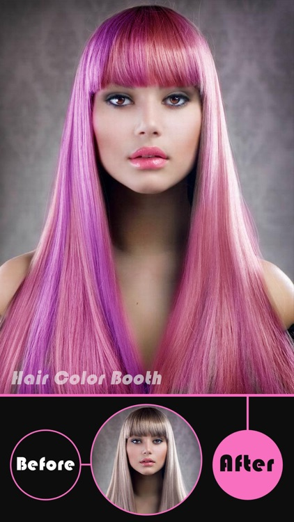 Hair Color Booth Pro - Change Hair Styles to Blonde, Brunette, Brown, Ginger or Any Color