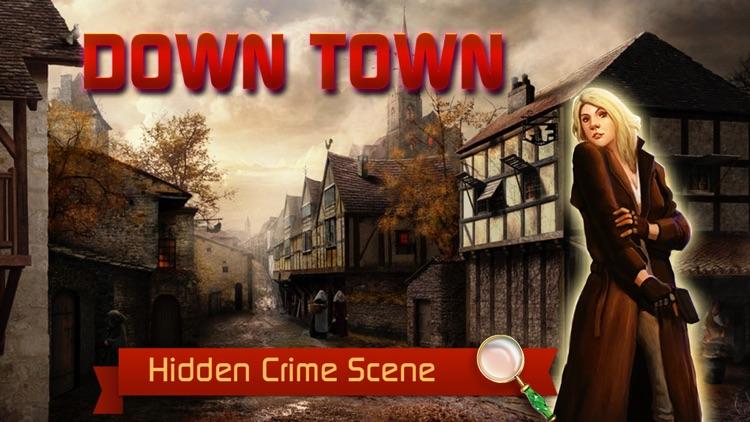 Downtown Crime Scene: Find Hidden Murder Mystery & Solve Criminal Case