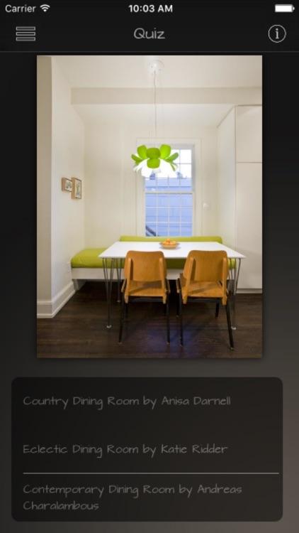 Dining Rooms Database screenshot-4