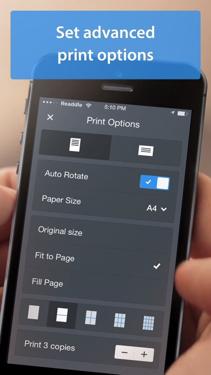 Printer Pro - Print photos, pdf and emails app image