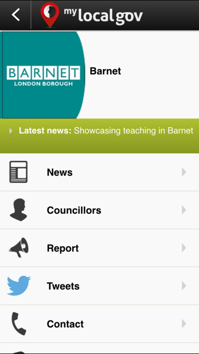 MyLocalGov - UK Council Services & Reporting screenshot one