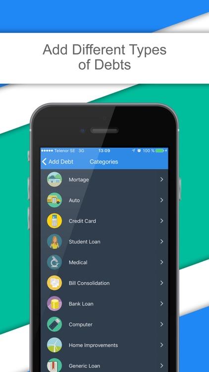 Debt & Loan Calculator - Pay Off Debts and Loans