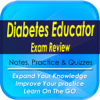 Diabetes Educator Exam Review: 1300  Study Notes, Tips & Quizzes