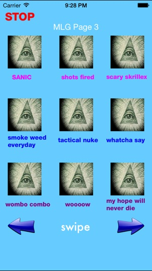 Illuminati Soundboard Screenshot