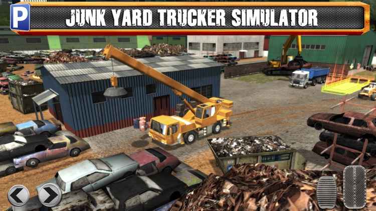 Junk Yard Trucker Parking Simulator a Real Monster Truck Extreme Car Driving Test Racing Sim screenshot-0