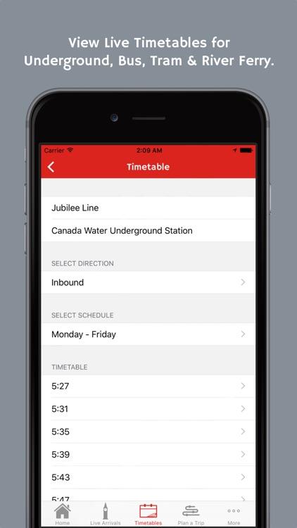 London Transport App screenshot-3