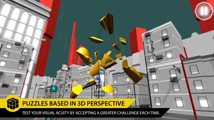 Perfect Angle: The best puzzle game based on optical illusions.