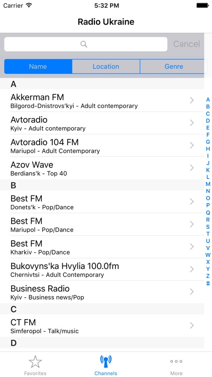 Radios of Ukraine screenshot-0