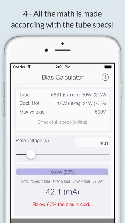 Bias Calc screenshot-3