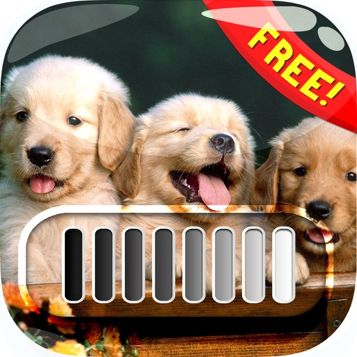 FrameLock – My Cute Puppy : Screen Photo Maker Overlays Wallpaper For Free