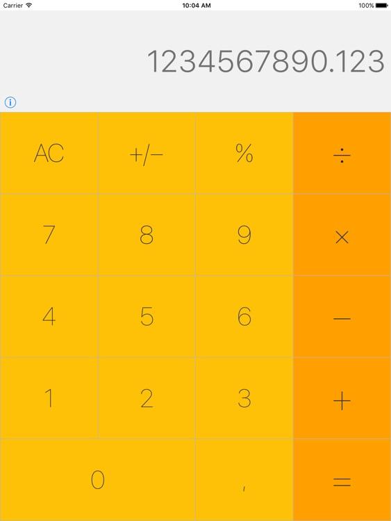 Amber Calculator NoAds Free