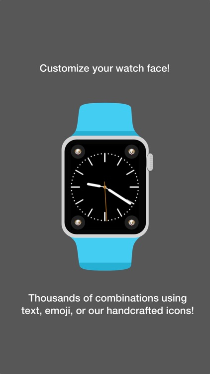 Watch Widgets: Emoji, Text, Icons for Watch Faces screenshot-0