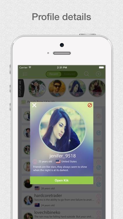 K Usernames PRO - For Kik Messenger