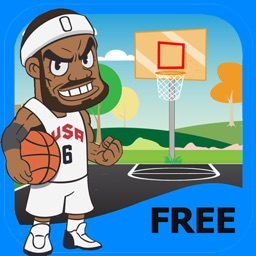 Slam Dunk Basketball - Basketball Tosses Arcade and Free Game