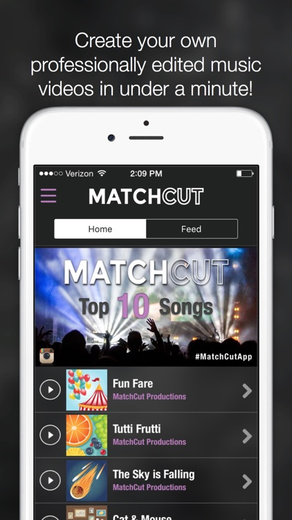 MatchCut - Automatic Music Video Editor