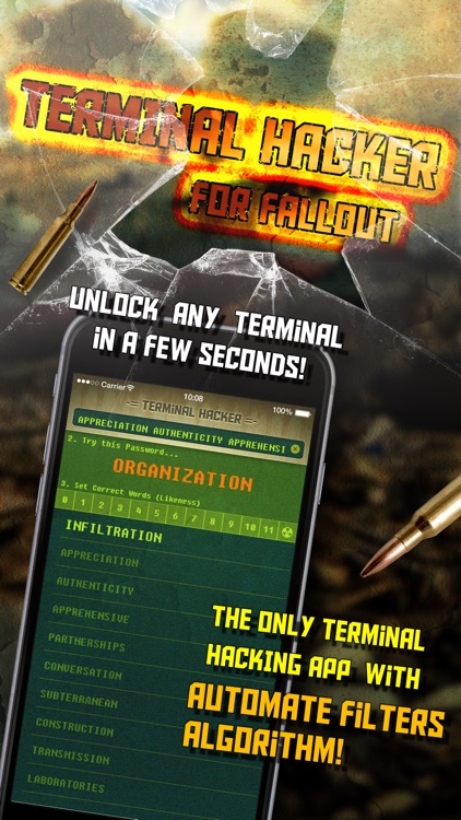 Terminal Hacker for Fallout 4 - Fast Unlock and Solve Codes