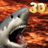 巨齿鲨沙鱼 潜水艇 迫害 - 放逐该糟糕沙鱼水下  3D
