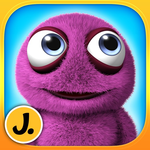 Cute Friendly Monsters - puzzle game for little girls, boys and preschool kids - Free