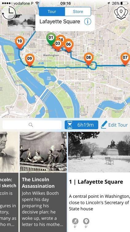 Washington Lincoln & Civil War Tour screenshot-3