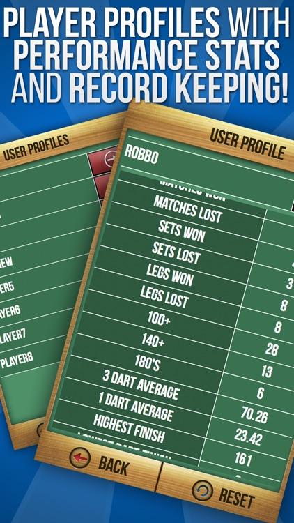 MadHouse Darts Scorer Darts Games Scoreboard & Scorekeeper 501 Scoring and More screenshot-3