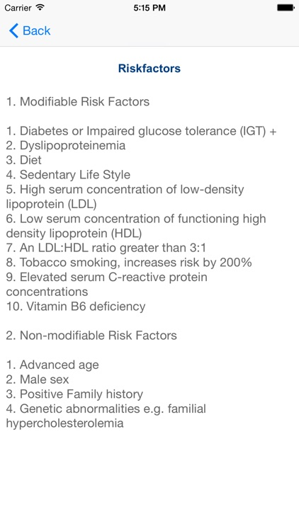 Cardiovascular Diseases screenshot-2