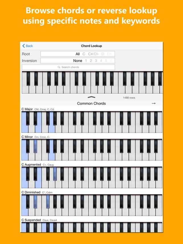 Piano Chords And Scales Friend On The App Store
