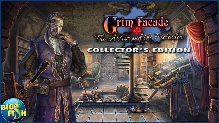 Grim Facade: The Artist and The Pretender - A Mystery Hidden Object Game (Full) screenshot-4