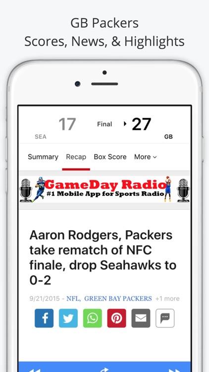 Green Bay GameDay Live Radio – Packers & Bucks Edition screenshot-3