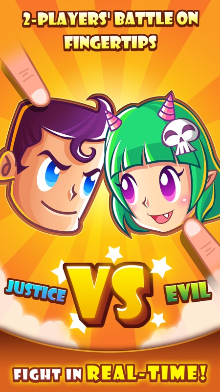 Justice vs Evil-2 player games - Online Game Hack and Cheat