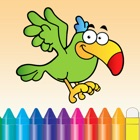 Animals Coloring Book - Cute Drawing Painting Kids Games icon