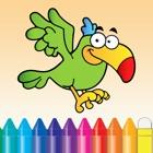动物图画书 - 可爱绘图绘画儿童游戏 icon