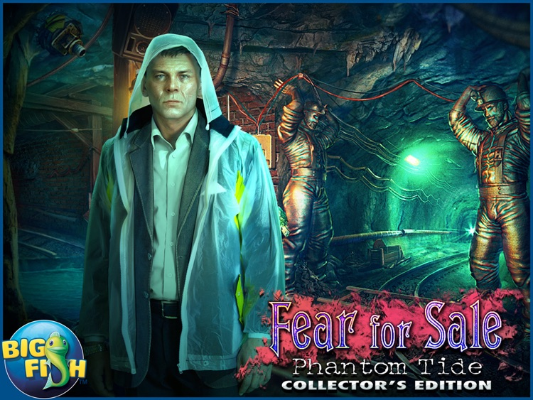 Fear For Sale: Phantom Tide HD - A Scary Hidden Object Mystery (Full) screenshot-4