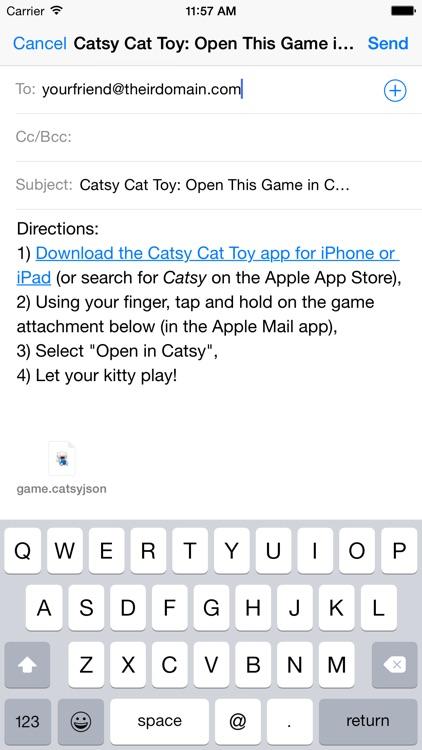Catsy Cat Toy: Customize & Share screenshot-4