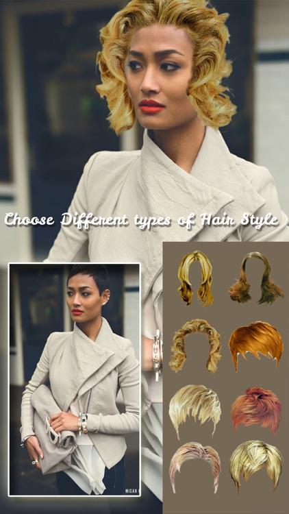 Women Hairstyles Photo Editor screenshot-3