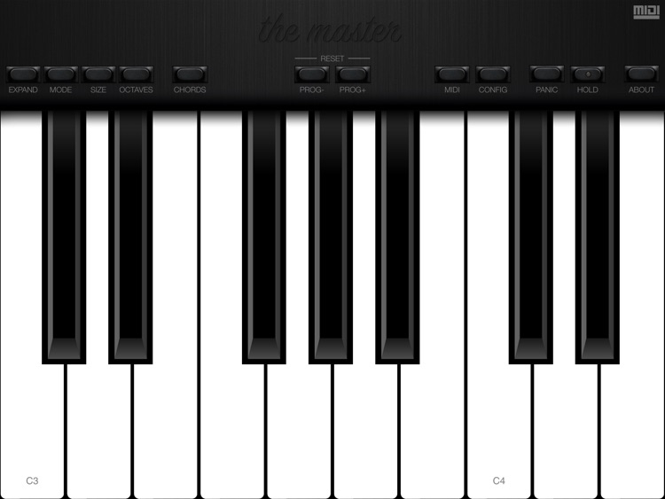 The Master MIDI Keyboard screenshot-1