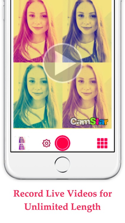 CamStar - Free Selfie Photo Effects for FB, PS Instagram & Snapchat