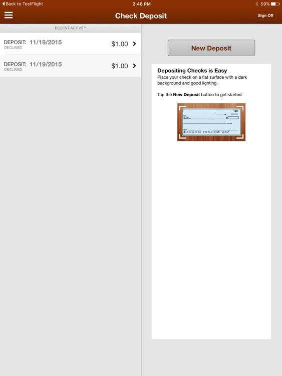 Marquis Bank Mobile for iPad screenshot-4