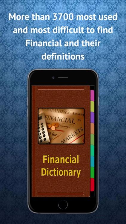 Financial Term Dictionary