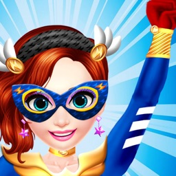Superhero Girls Salon: Beauty Power -  Spa, Makeup & Kids Makeover Game for Free
