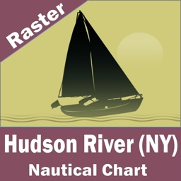 Hudson River (New York)  - Raster Nautical Charts