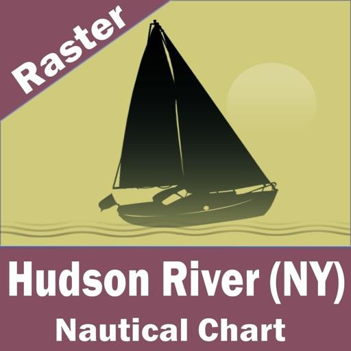 Hudson River (New York)  - Raster Nautical Charts