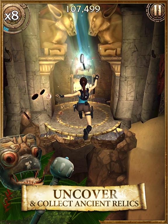 Lara Croft: Relic Run Screenshots