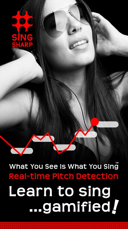 Sing Sharp, Learn to Sing – Vocal Exercise, Warm-Up, Ear Training, and Singing Lesson screenshot-0