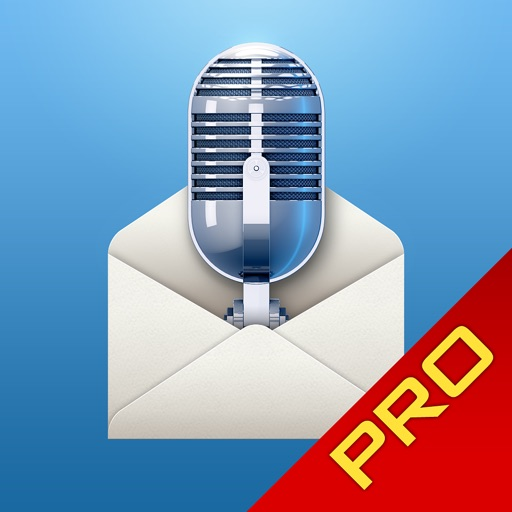 Say it & Mail it Pro Recorder for iPad