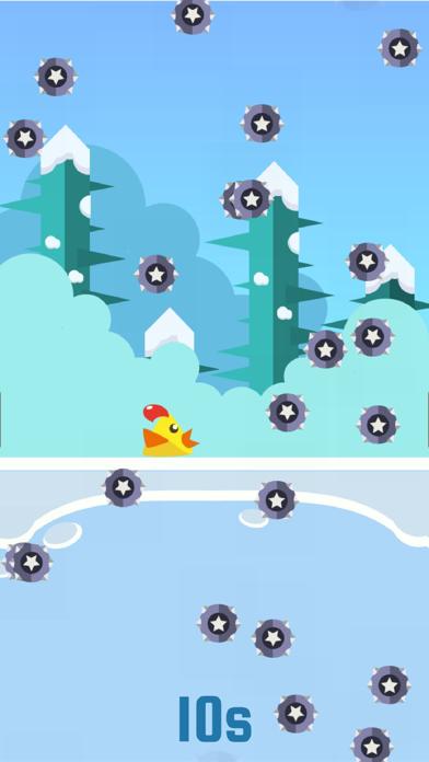 Ninja Chickens Spike Run - The 7 Second Impossible Challenge screenshot three